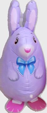 Silk Lilac Bunny Airwalker 24in/60cm