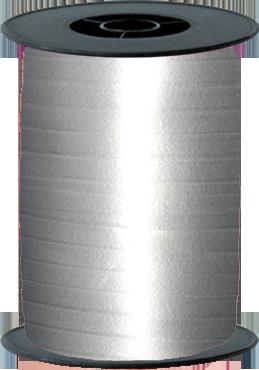Silver Curling Ribbon 10mm x 250m
