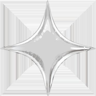 Silver Foil Starpoint 40in/100cm