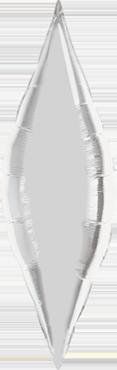 Silver Foil Taper 13in/32.5cm