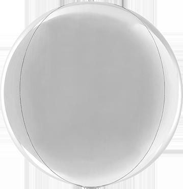 Silver Globe 15in/38cm
