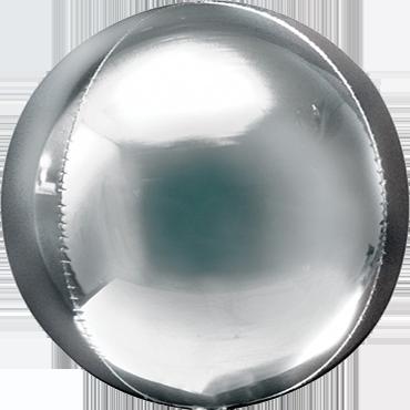 Silver Orbz 15in/38cm x 16in/40cm