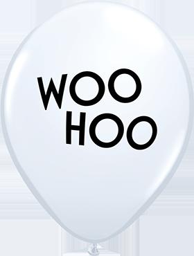 Simply Woo Hoo Standard White Latex Round 11in/27.5cm