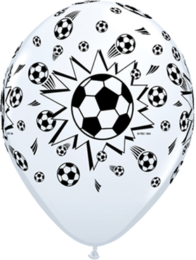 Soccer Balls Standard White Latex Round 11in/27.5cm