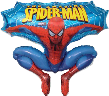 Spiderman Foil Shape 32in/80cm