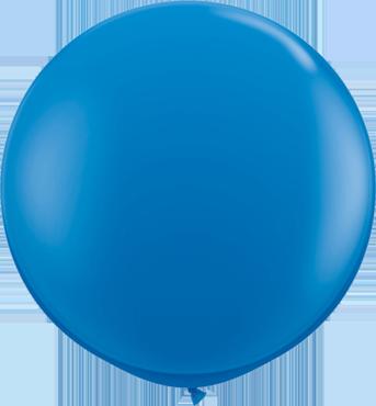 Standard Dark Blue Latex Round 36in/90cm
