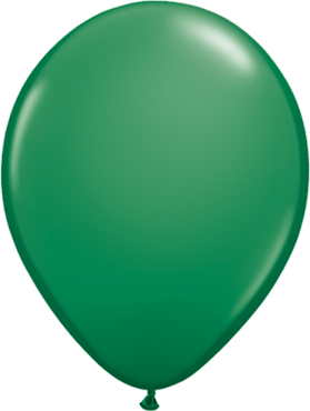 Standard Green Latex Round 16in/40cm