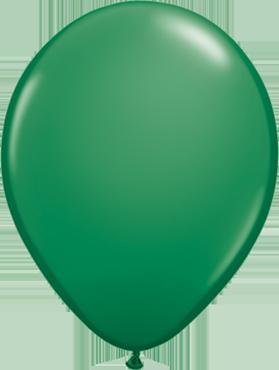 Standard Green Latex Round 16in/40cm