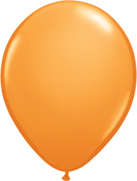 Standard Orange Latex Round 16in/40cm
