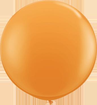 Standard Orange Latex Round 36in/90cm