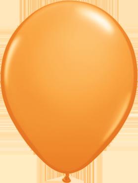Standard Orange Latex Round 5in/12.5cm