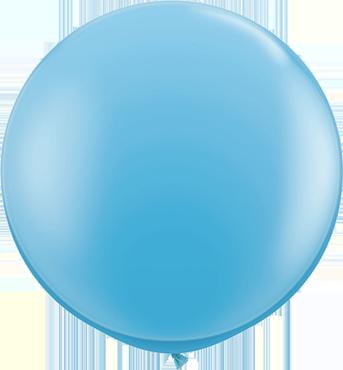 Standard Pale Blue Latex Round 36in/90cm