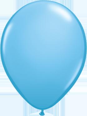 Standard Pale Blue Latex Round 5in/12.5cm