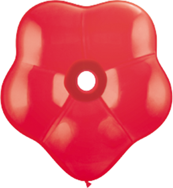 Standard Red GEO Blossom 6in/15cm