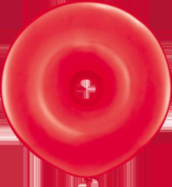Standard Red GEO Donut 16in/40cm