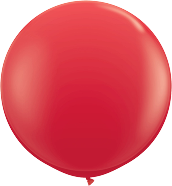 Standard Red Latex Round 36in/90cm