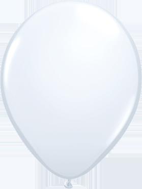 Standard White Latex Round 16in/40cm
