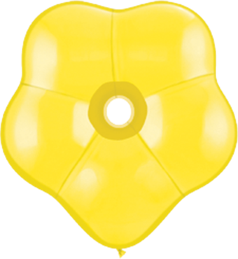 Standard Yellow GEO Blossom 6in/15cm