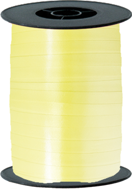 Sunshine Yellow Curling Ribbon 10mm x 250m