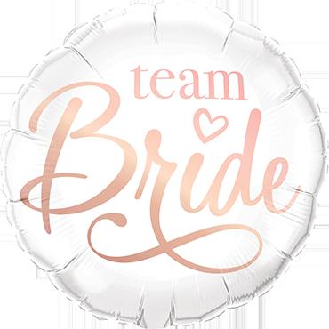 Team Bride Foil Round 18in/45cm