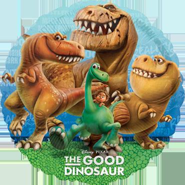 The Good Dinosaur Foil Round 18in/45cm