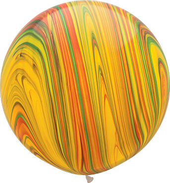Traditional SuperAgate Latex Round 30in/75cm