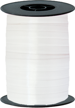White Curling Ribbon 10mm x 250m