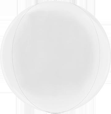 White Globe 15in/38cm