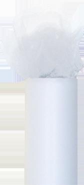 White Tulle 30cm x 23m