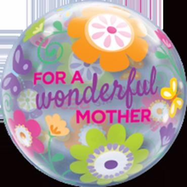 Wonderful Mother Spring Garden Single Bubble 22in/55cm