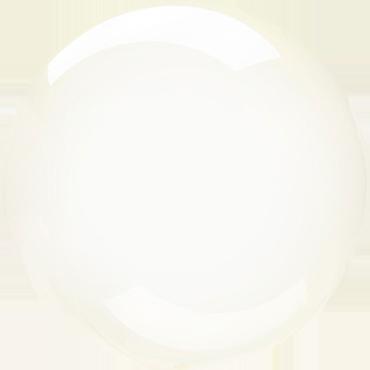 Yellow Crystal Clearz Orbz 18in/45cm x 18in/45cm