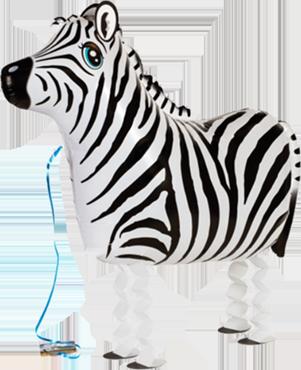 Zebra Airwalker 25in/62.5cm