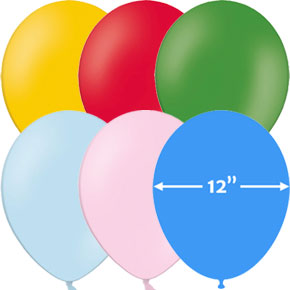 Globos 12 inch Latex Ballonnen