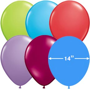 Globos 14 inch Latex