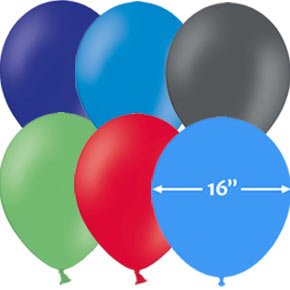 16 inch Latex Ballonnen