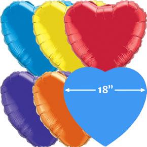 18 inch Folieballonnen Hart