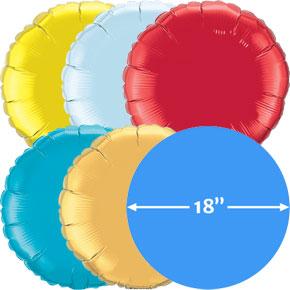 18 inch Folieballonnen Rond
