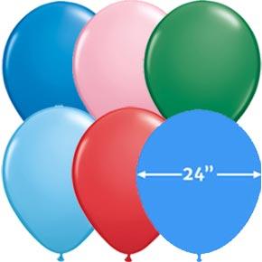 24 inch Latex Ballonnen