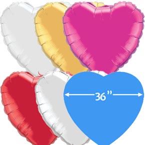 36 inch Folieballonnen Hart
