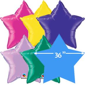 36 inch Folieballonnen Ster