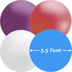 66 inch Latex Ballonnen