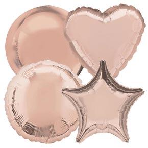 Rose Gouden Ballonnen
