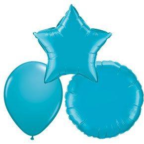 Turquoise Ballonnen