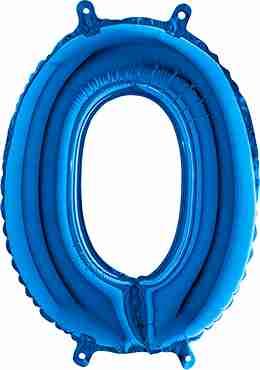 0 Blue Foil Number 26in/66cm
