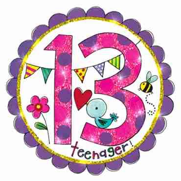 13 Perfect Pink Badge