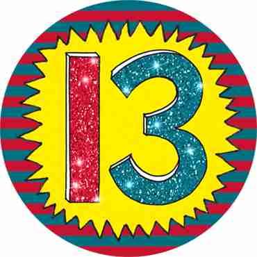 13 Wow Badge