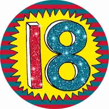 18 Wow Badge