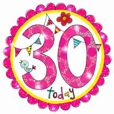 30 Perfect Pink Badge