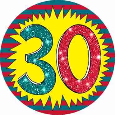 30 Wow Badge