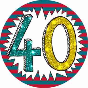40 Wow Badge